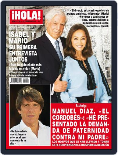 Hola (Digital) February 3rd, 2016 Issue Cover