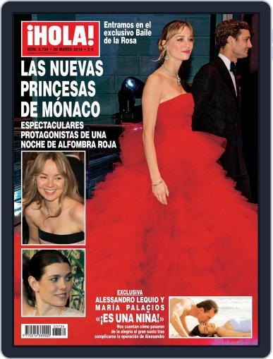 Hola March 23rd, 2016 Digital Back Issue Cover