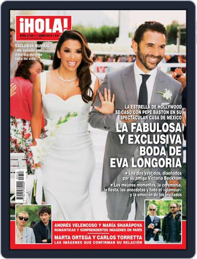Hola (Digital) May 25th, 2016 Issue Cover