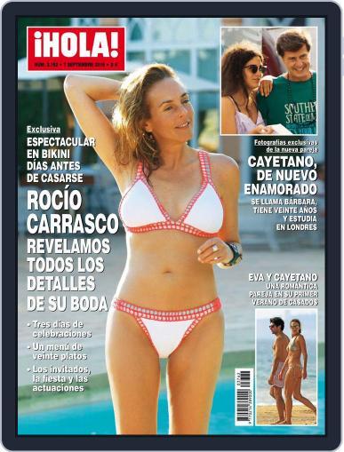 Hola September 7th, 2016 Digital Back Issue Cover