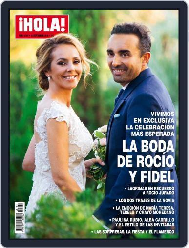 Hola (Digital) September 21st, 2016 Issue Cover