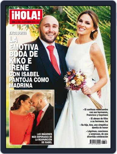 Hola (Digital) October 19th, 2016 Issue Cover