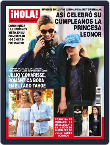 Hola November 9th, 2016 Digital Back Issue Cover