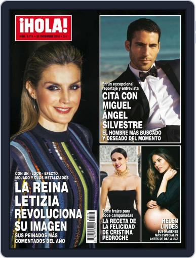 Hola December 28th, 2016 Digital Back Issue Cover
