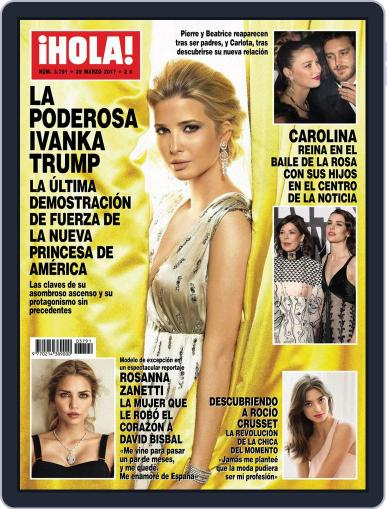 Hola (Digital) March 29th, 2017 Issue Cover