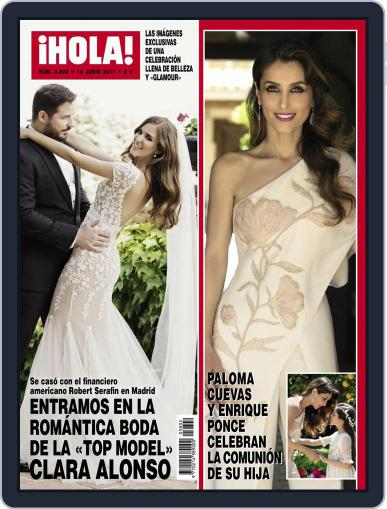 Hola June 14th, 2017 Digital Back Issue Cover
