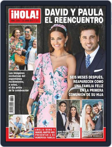 Hola June 28th, 2017 Digital Back Issue Cover