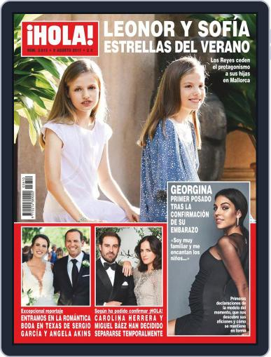 Hola (Digital) August 9th, 2017 Issue Cover
