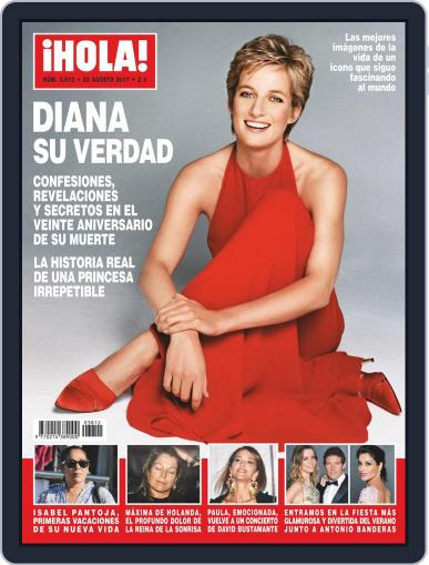 Hola (Digital) August 23rd, 2017 Issue Cover