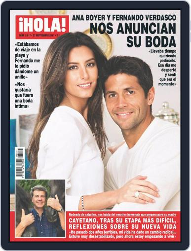 Hola (Digital) September 27th, 2017 Issue Cover