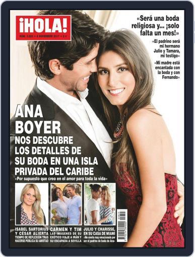 Hola (Digital) November 8th, 2017 Issue Cover