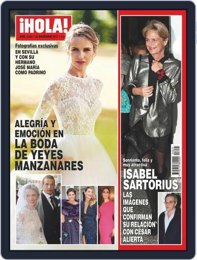 Hola (Digital) November 22nd, 2017 Issue Cover