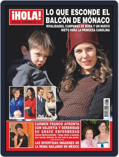 Hola (Digital) November 29th, 2017 Issue Cover