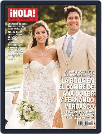Hola December 20th, 2017 Digital Back Issue Cover