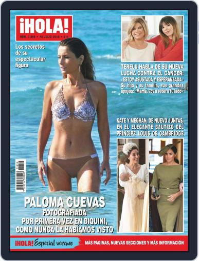 Hola July 18th, 2018 Digital Back Issue Cover