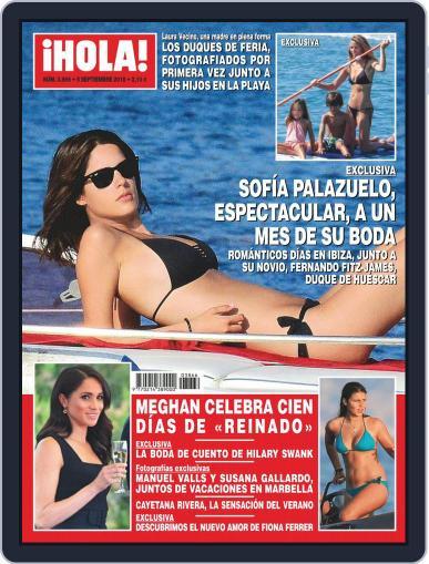 Hola (Digital) September 5th, 2018 Issue Cover