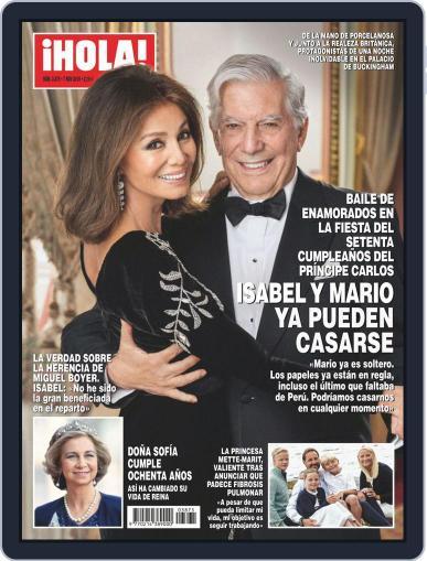 Hola (Digital) November 7th, 2018 Issue Cover