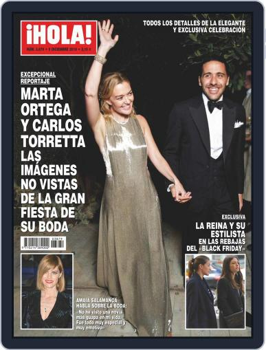 Hola (Digital) December 5th, 2018 Issue Cover