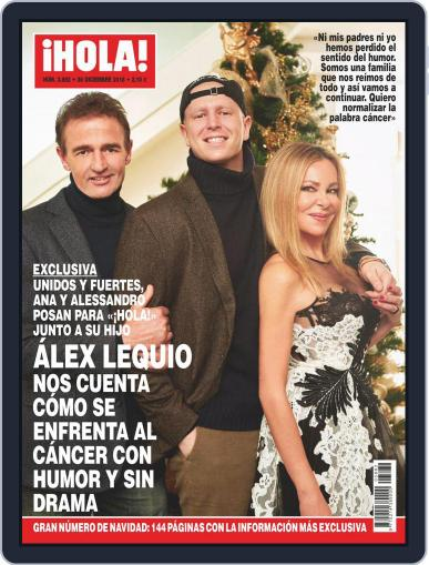 Hola (Digital) December 26th, 2018 Issue Cover