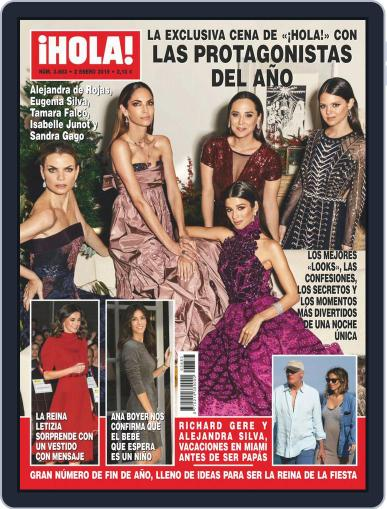 Hola (Digital) January 2nd, 2019 Issue Cover