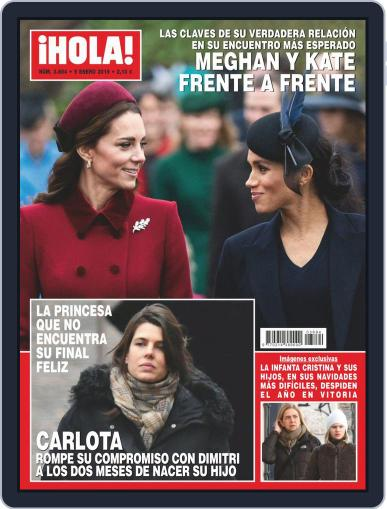 Hola (Digital) January 9th, 2019 Issue Cover
