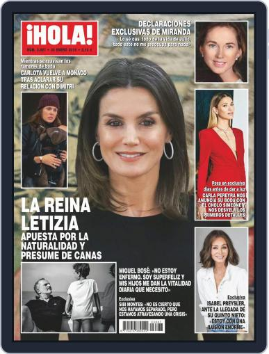 Hola January 30th, 2019 Digital Back Issue Cover