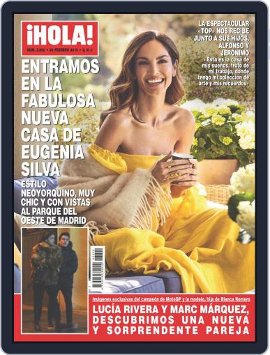 Hola (Digital) February 20th, 2019 Issue Cover