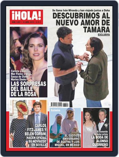 Hola (Digital) April 10th, 2019 Issue Cover