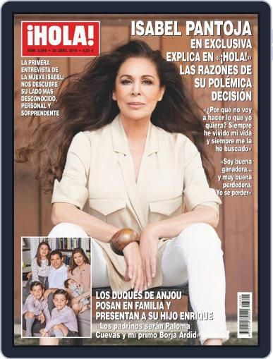 Hola (Digital) April 24th, 2019 Issue Cover