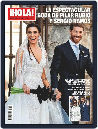 Hola (Digital) June 26th, 2019 Issue Cover