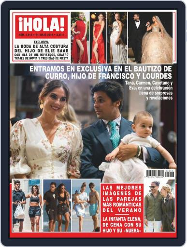 Hola (Digital) July 31st, 2019 Issue Cover