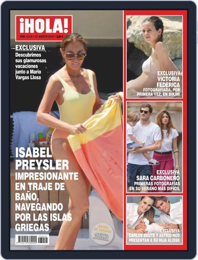 Hola August 21st, 2019 Digital Back Issue Cover