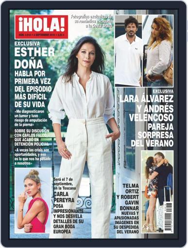 Hola (Digital) September 4th, 2019 Issue Cover