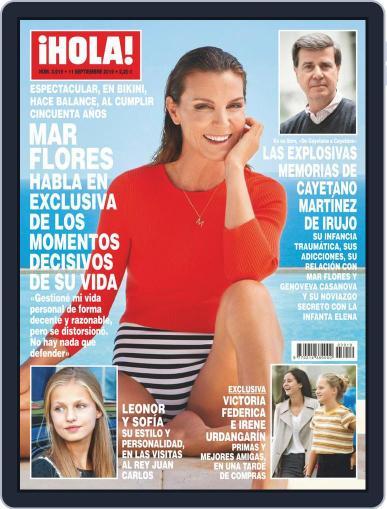 Hola (Digital) September 11th, 2019 Issue Cover