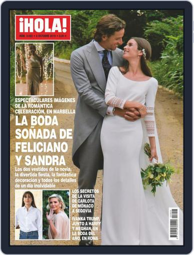 Hola (Digital) October 2nd, 2019 Issue Cover