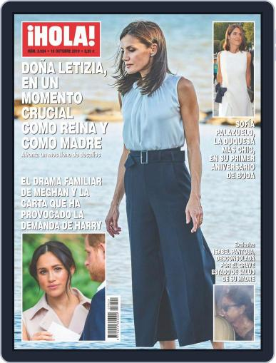 Hola (Digital) October 10th, 2019 Issue Cover