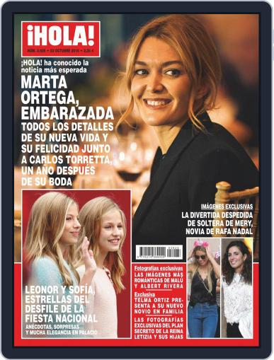 Hola (Digital) October 23rd, 2019 Issue Cover