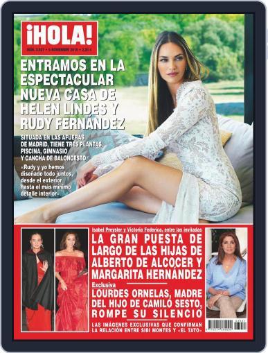 Hola (Digital) November 6th, 2019 Issue Cover