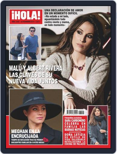 Hola (Digital) November 20th, 2019 Issue Cover