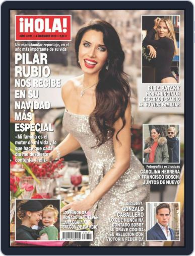 Hola (Digital) December 4th, 2019 Issue Cover