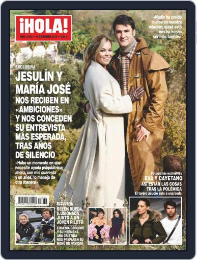 Hola December 18th, 2019 Digital Back Issue Cover