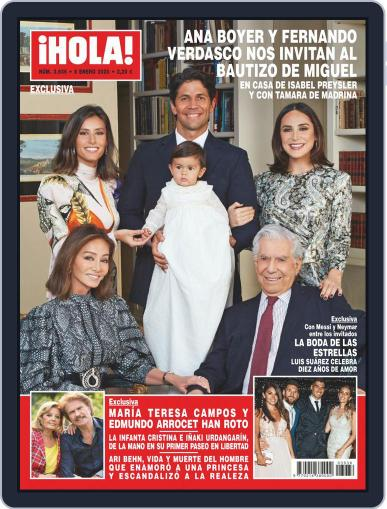 Hola (Digital) January 8th, 2020 Issue Cover