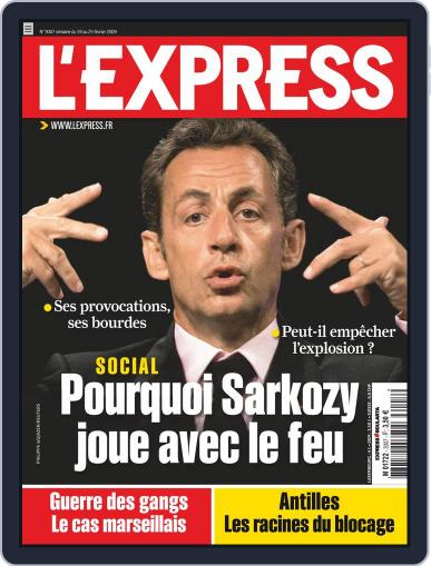 L'express February 18th, 2009 Digital Back Issue Cover