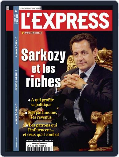 L'express (Digital) March 25th, 2009 Issue Cover