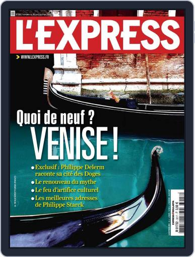 L'express (Digital) April 30th, 2009 Issue Cover