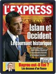 L'express (Digital) Subscription June 10th, 2009 Issue