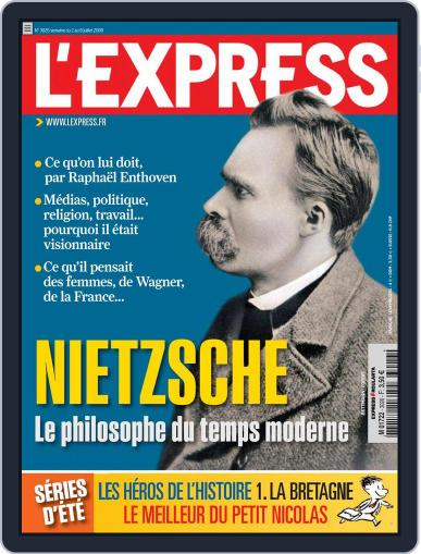 L'express (Digital) July 2nd, 2009 Issue Cover