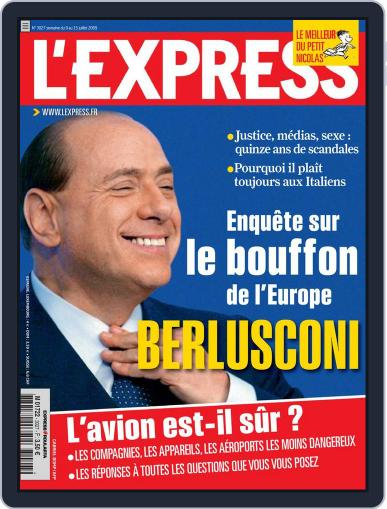 L'express (Digital) July 9th, 2009 Issue Cover
