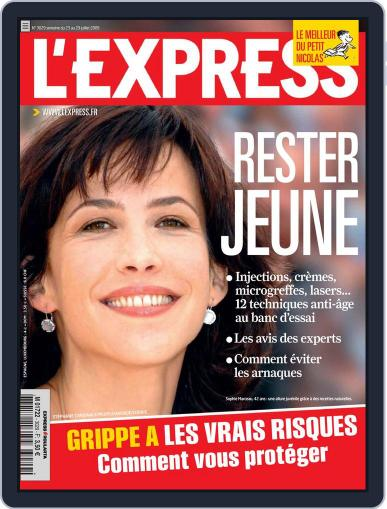 L'express (Digital) July 22nd, 2009 Issue Cover
