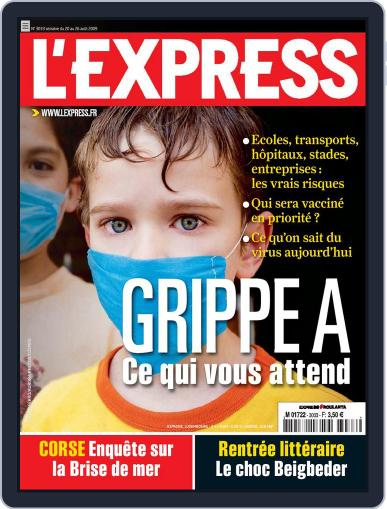 L'express August 19th, 2009 Digital Back Issue Cover